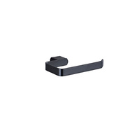 Zoya Toilet Roll Holder - Matte Black
