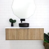 Marquis Cove 600mm Wall Hung Vanity - Centre Bowl