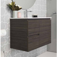 A.D.P Glacier Twin Ensuite 750mm Wall Hung Vanity
