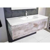 ADP Glacier Slim 1200mm Single Bowl All Drawer Wall Hung Vanity