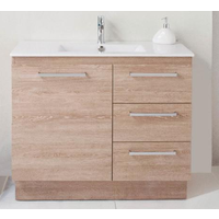 ADP Glacier Trio 900mm Vanity on Kick