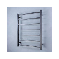 Radiant GMG-STR01 Square 7 Rung Heated Towel Ladder - Gun Metal Grey