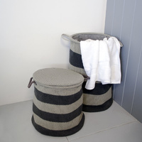 Jamie J Bronx Laundry Basket - Large