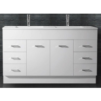Mars 1500mm Double Bowl Vanity