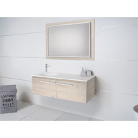 A.D.P Snow 1200mm Wall Hung Vanity