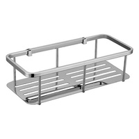 Modern National Rectangle Stainless Steel Basket