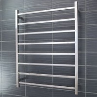 Radiant STR05 Square 8 Rung Heated Towel Ladder