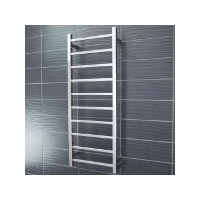 Radiant STR430 Round 10 Rung Heated Towel Ladder - Polished Stainless Steel