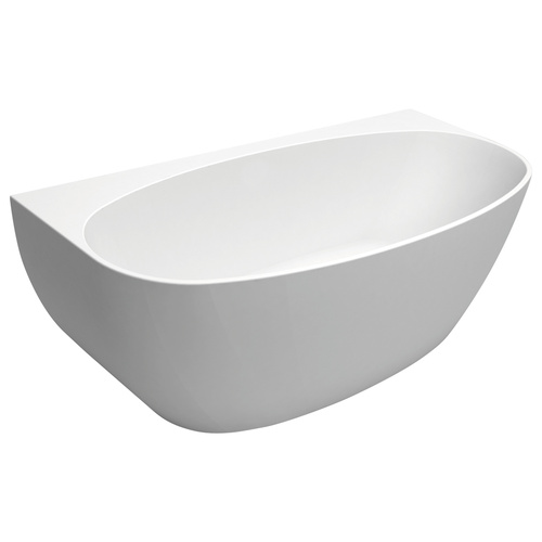 Fienza Keeto 1500mm Freestanding Acrylic Bath - White