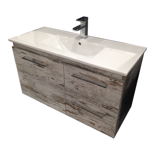A.D.P Glacier Twin Ensuite 900mm Wall Hung Vanity