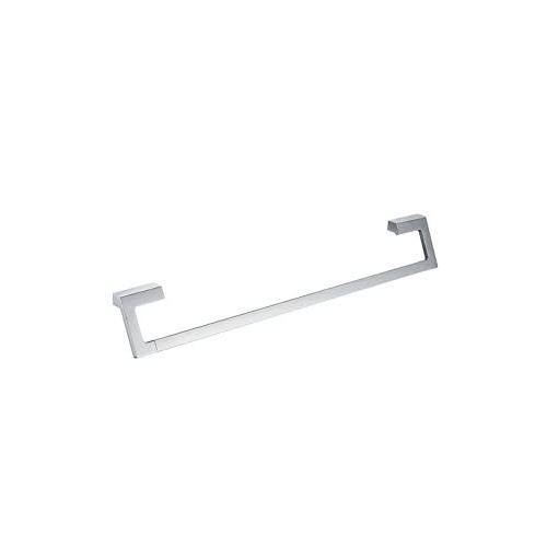 Jamie J Time Square 600mm Single Towel Rail  - Chrome