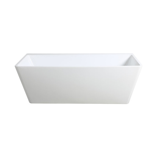 KBT-7-1700mm Wall Faced Freestanding Bath