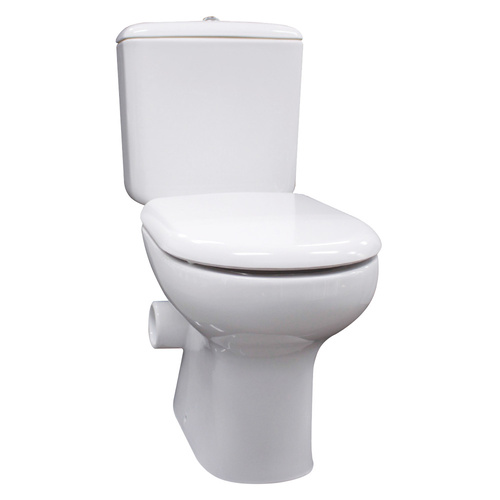 R.A.K Liwa Skew Close Coupled Toilet Suite with Solft Close Seat