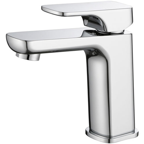 P & P Eden Soft Square Basin Mixer - Chrome