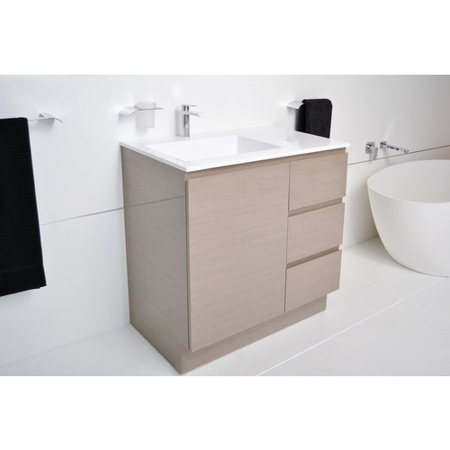 A.D.P Summer Trio 1200mm Single Bowl Vanity on Kick